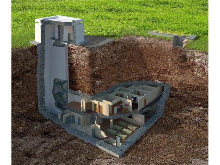 3. Underground Bunker 13—Southeast Georgia