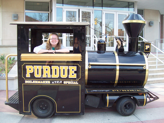 4. The Purdue Fan