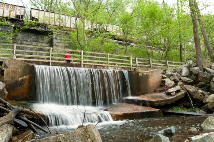 Kilgore Falls Rocks State Park Pylesville Maryland