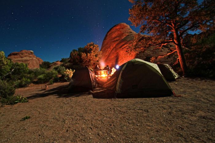 8. Devils Garden Campground, Arches National Park