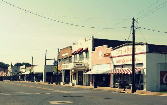 Stroll down Antique Alley, West Monroe