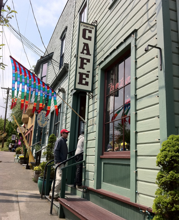 3. Fountain Cafe, Port Townsend