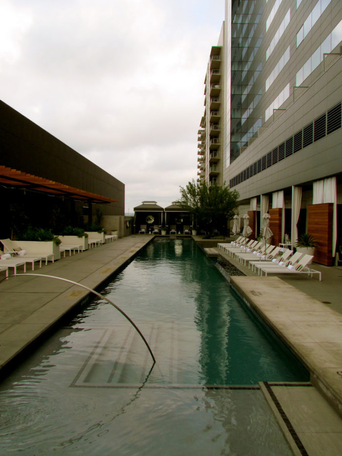 10. Probably one of the most desirable rooftops to be all year round. W Hotel Austin!