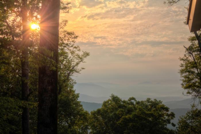6. Amicalola Falls State Park—418 Amicalola Falls Lodge Rd, Dawsonville, GA 30534