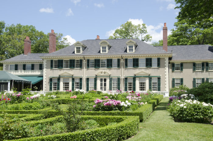 6.  Check out the gardens at Hildene.