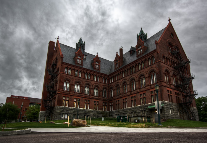 Have you ever been spooked by some of the supposedly haunted buildings?