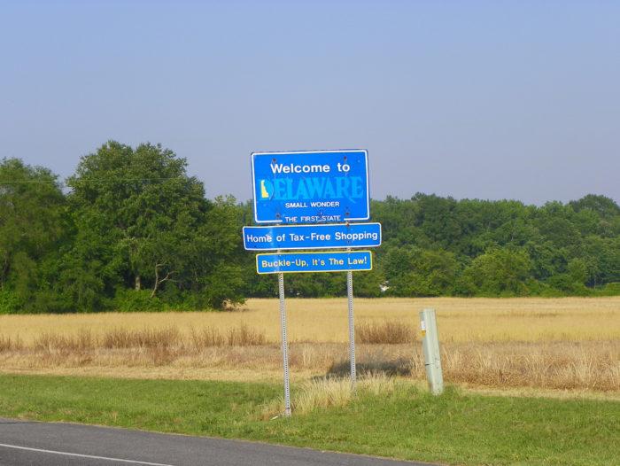 Delaware sign