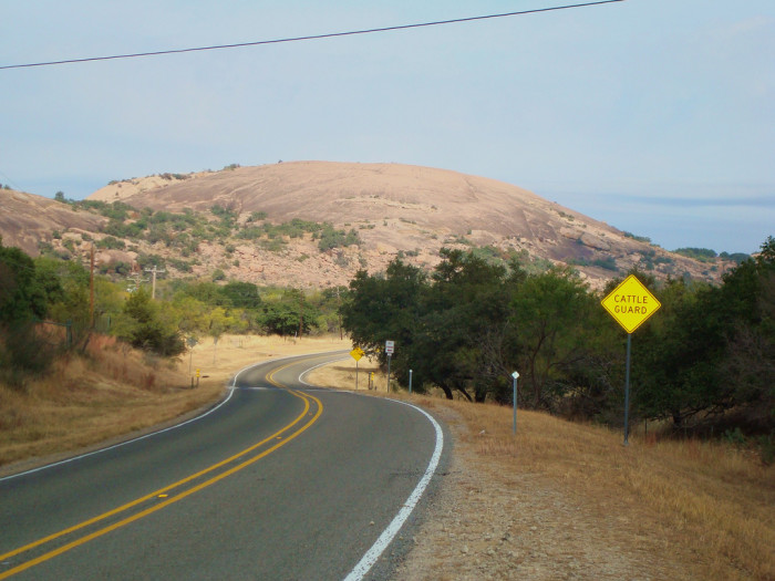 8. Do NOT go to Enchanted Rock