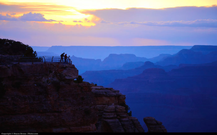 2. Ever hear of that great, world renowned natural wonder, the Grand Canyon? It calls Arizona home.
