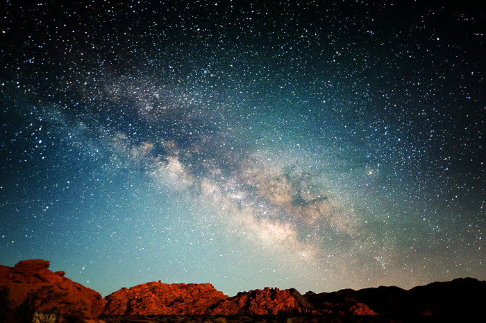 6. Nevada is one of the best states for stargazing.