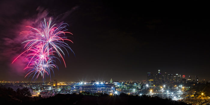 13. Time your visit right and you can watch the fireworks show from Dodger Stadium on 4th of July. The view from the stadium is stunning and may be the best spot in the city to view the fireworks.