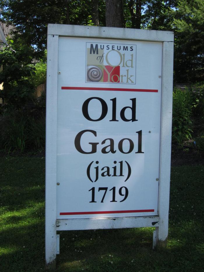 8. The Old York Gaol, York