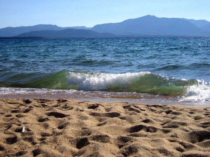 7. Nevada Beach