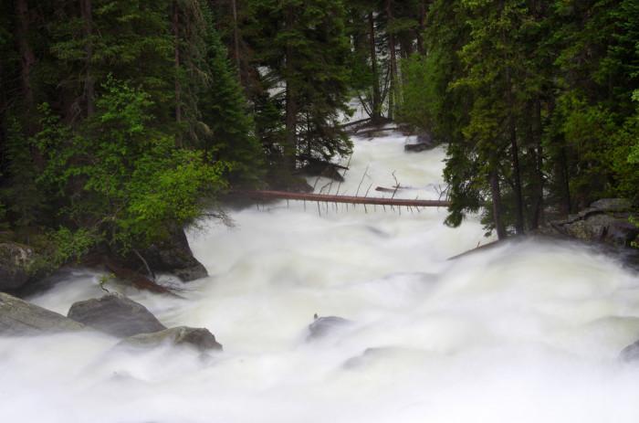 5. Cascade Falls in Rocky Mountain National Park