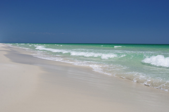 7. Check out the Emerald Coast.