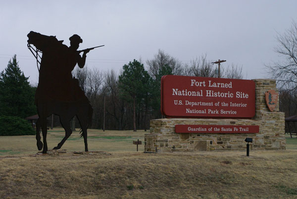 7. Fort Larned National Historic Site (Pawnee County)