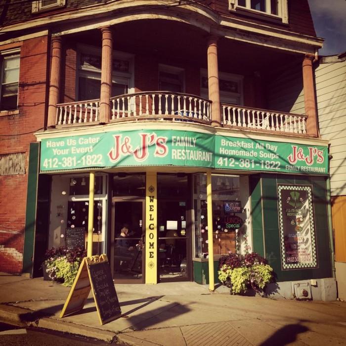 5. J&J's Family Restaurant