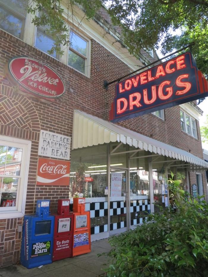 5. Lovelace Drug Store and Soda Fountain, Ocean Springs