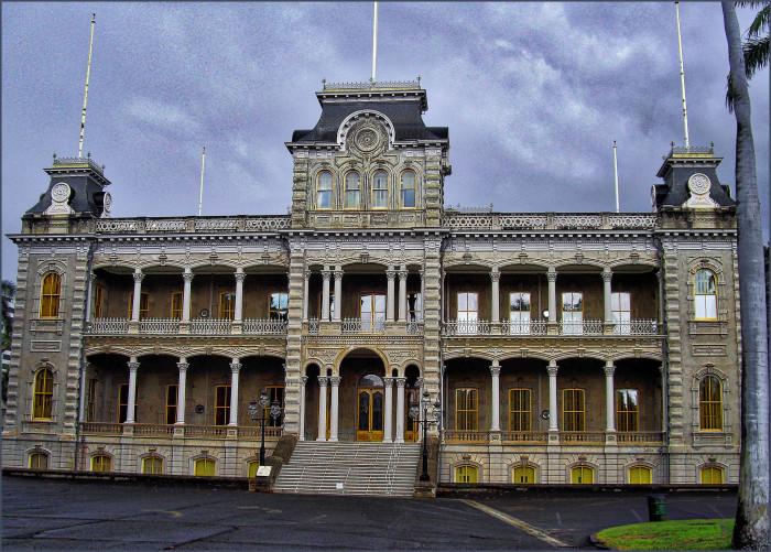 6. Iolani Palace