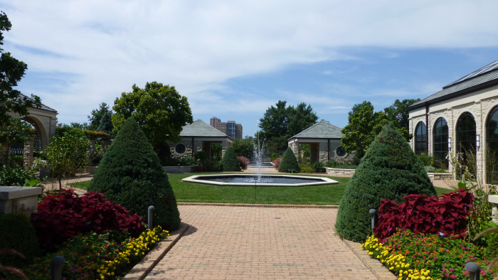 6.	The Ewing and Muriel Kauffman Memorial Garden, Kansas City