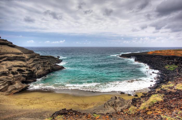 6. Papakolea Green Sand Beach #2