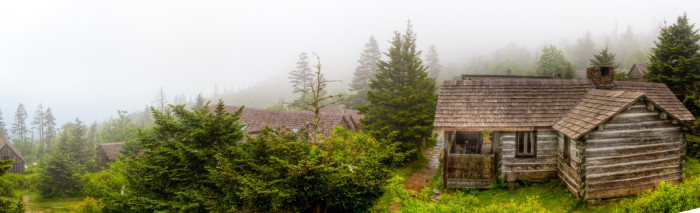 6. Rustic LeConte Lodge has no electricity, telephone lines or running water.