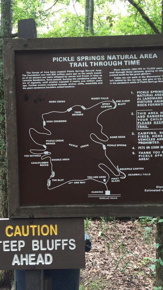 6.Trail Through Time at Pickle Springs Natural Area