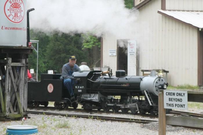 5.Wabash Frisco & Pacific Railroad Association, Glencoe