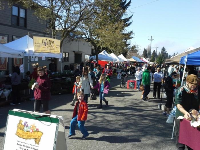 19. Tacoma Proctor Farmers Market
