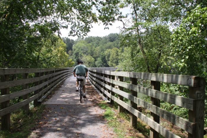 1. Virginia Creeper Trail