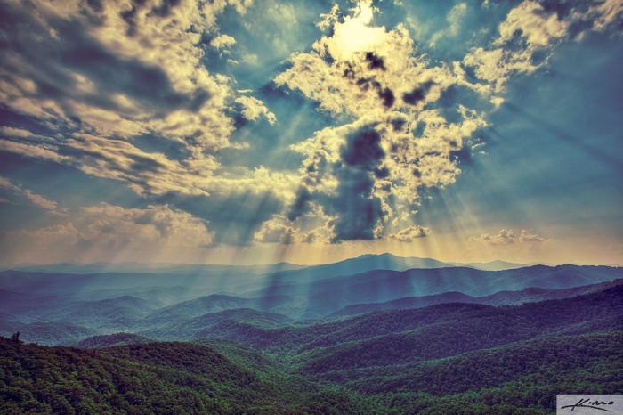 6. The Blue Ridge Mountains, North Carolina