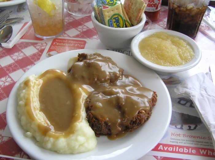 9. We serve gravy for all three meals.