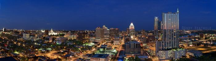 6. That Austin skyline...nothing short of amazing.
