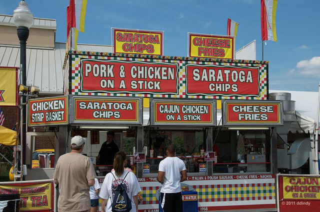 5. Dieting during State Fair time
