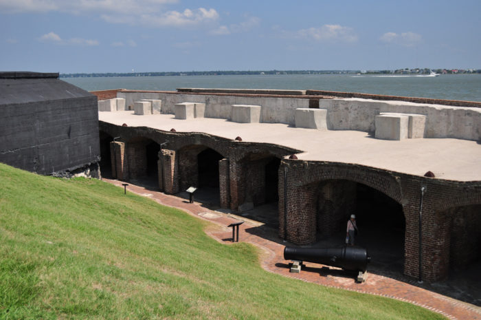 8. The polite ghost of Fort Sumter