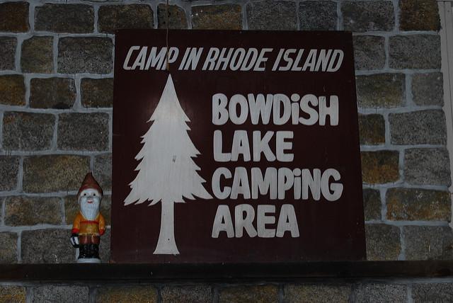 2. Bowdish Lake Camping Area, Glocester