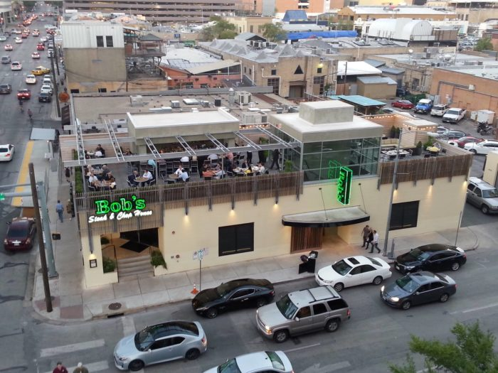 4. Imagine cutting into a juicy steak whilst sitting on the rooftop of Bob's Steak & Chop House - Austin! Yum-MY!
