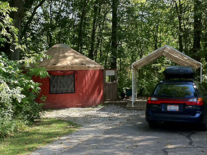10 Best Places To Go Glamping In Ohio