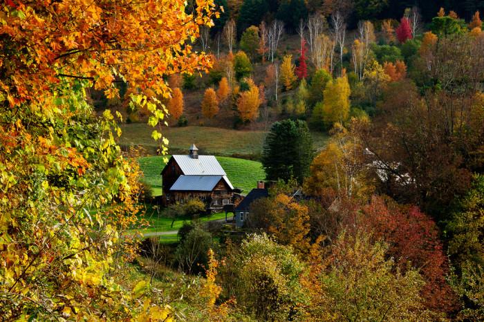 3. Woodstock, Vermont