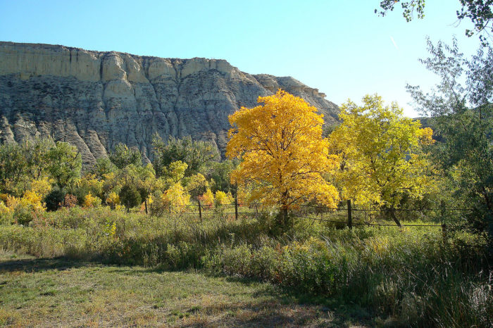 This wonderful place is one of North Dakota's many state parks, Sully Creek State Park.