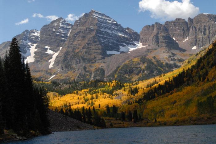 3. Maroon Bells, Colorado