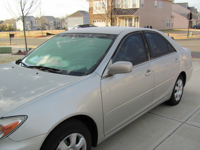 6. Park your car facing east on cold nights so that the sun can defrost your windshield as it rises.