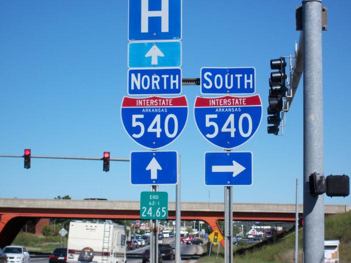 8. Northwest Arkansas traffic