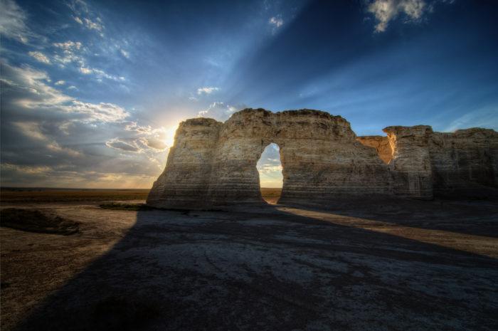 Kansas: Monument Rocks, Gove County