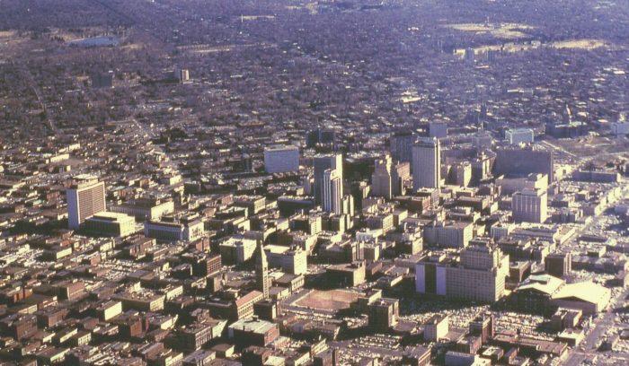 5. Downtown Denver, 1966.