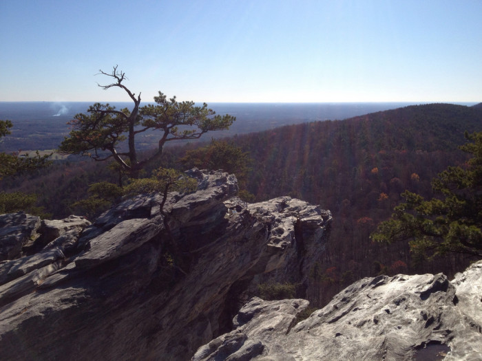 11. Moore's Wall Loop Trail, Hanging Rock State Park