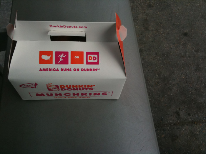11. You knew it was going to be a good day when you saw this box sitting on your teacher's desk.