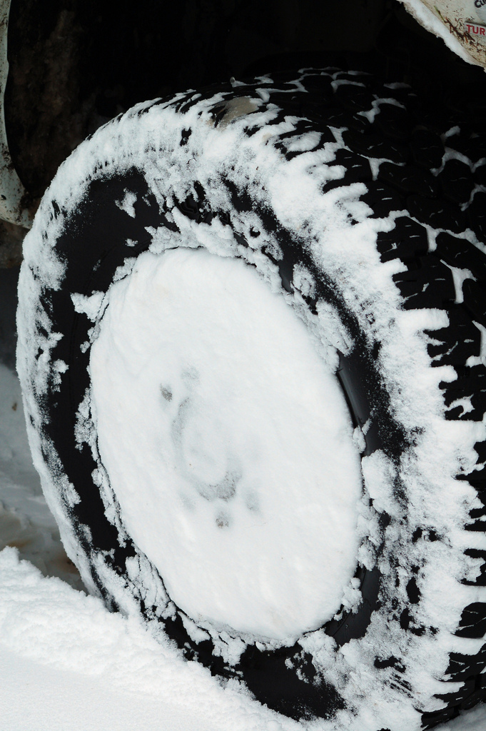10. Snow tires are not optional.