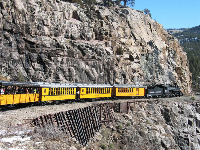 2. Durango and Silverton Narrow Gauge Railroad (Silverton)