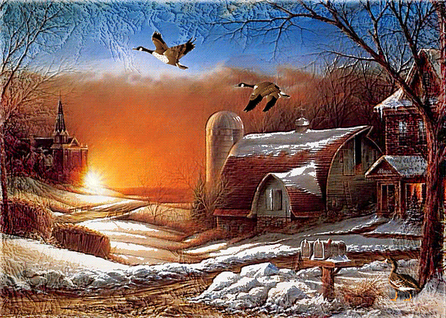8. We are also the home state of Terry Redlin, whose art never ceases to amaze.